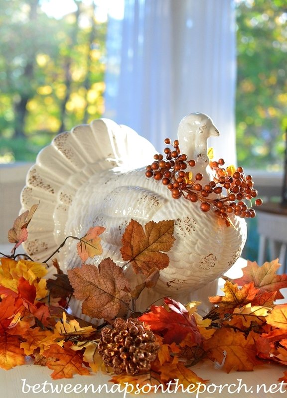 Turkey Centerpiece for Thanksgiving