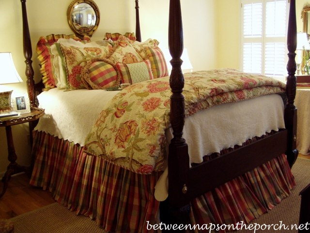 4 Poster Bed in Master Bedroom