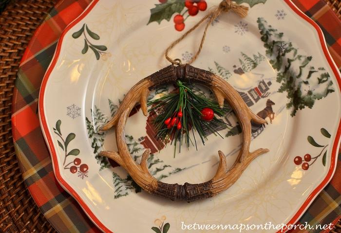 Antler Ornament Napkin Ring