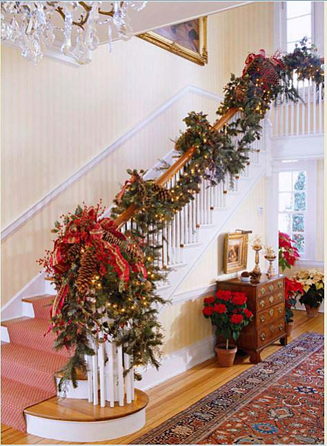 12 Beautiful Staircases To Sneak Down on Christmas Eve – Between ...