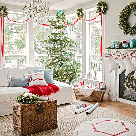 Beautiful Room for Christmas