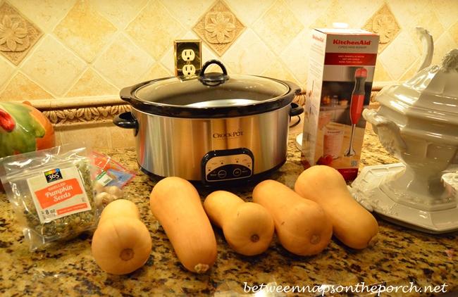 Butternut Squash for Soup 1
