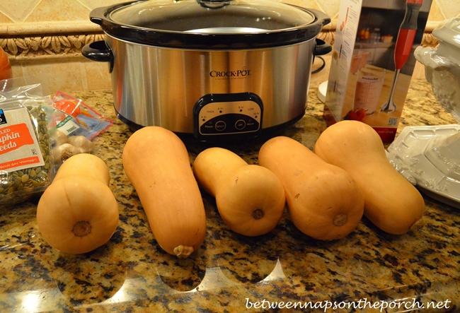Butternut Squash for Soup 2