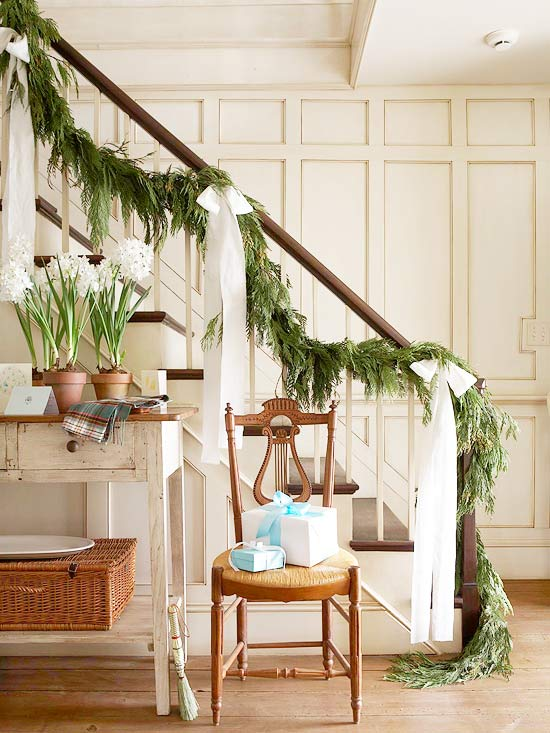 12 beautiful christmas banisters