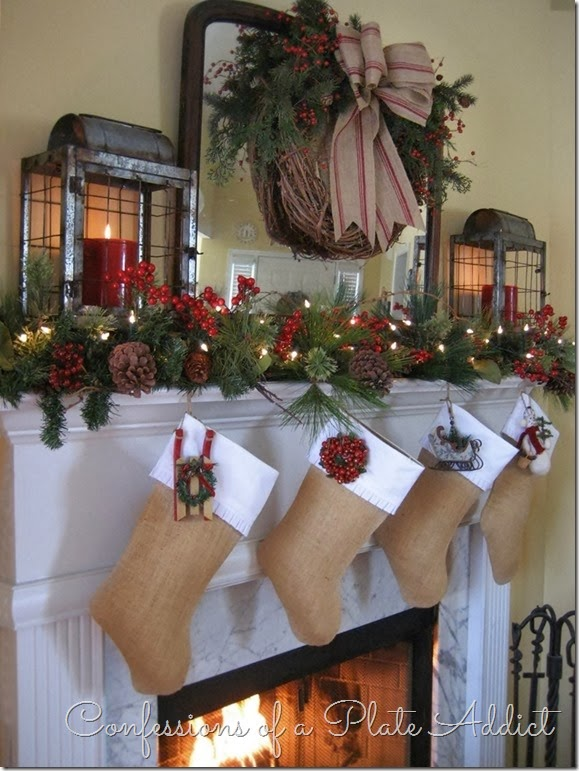 Ways To Decorate A Mantel For Christmas - Mantel christmas decorating ideas