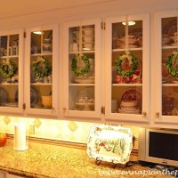 Decorating With Preserved Boxwood Wreaths