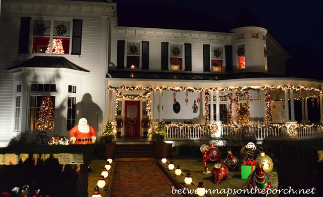 Decorate Walkway for Christmas