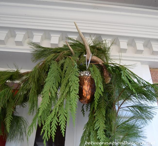 Deer Antler for Christmas Porch Decorations