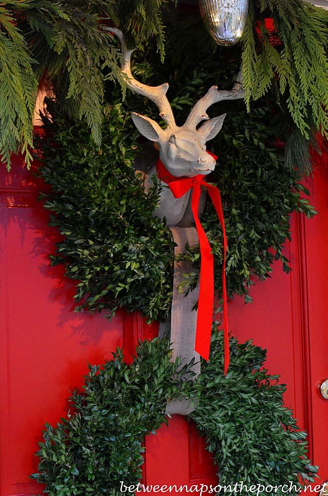 Deer Head Wreath