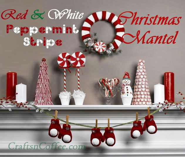 Christmas Mantel Decorations 10 ways to decorate a mantel for christmas