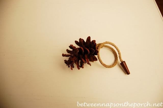 Pine Cone Napkin Ring