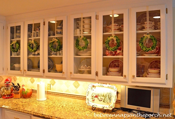 Preserved Wreaths for Christmas Decorating