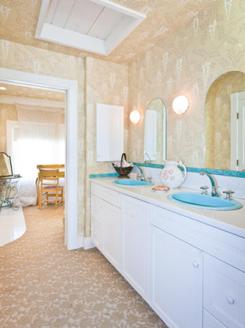 Bath in Kirstie Alley's Maine Home