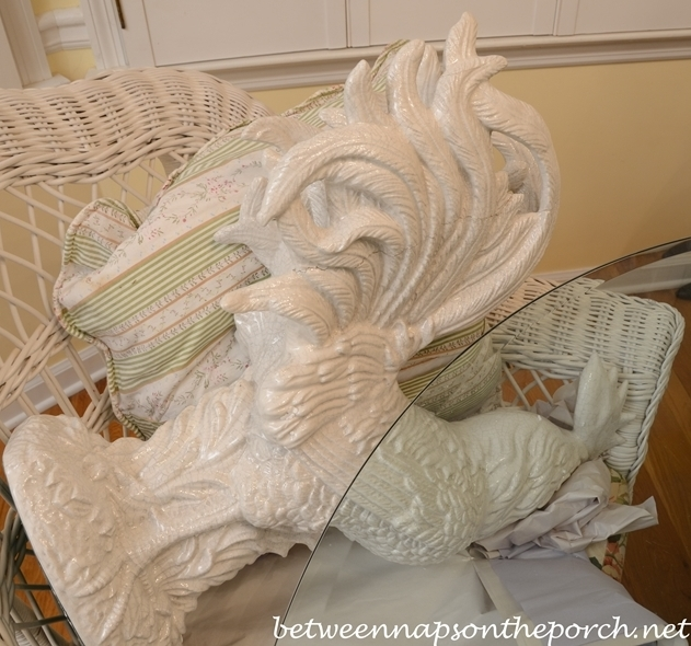 Broken Ceramic Rooster Repair