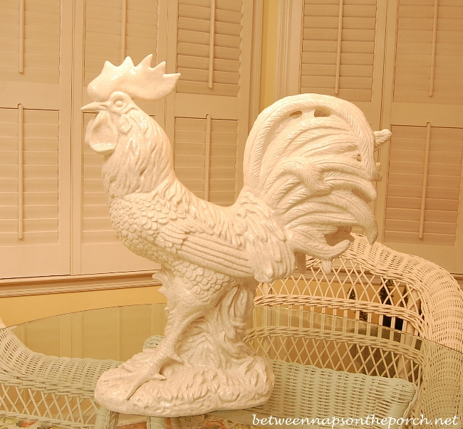 Ceramic Rooster
