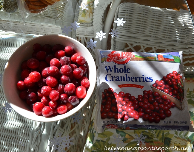 Cranberries for a Trifle