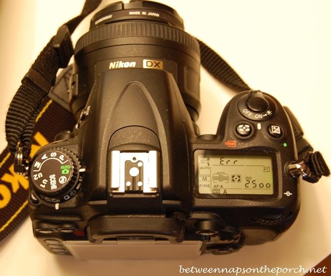 Err Message on Nikon D7000