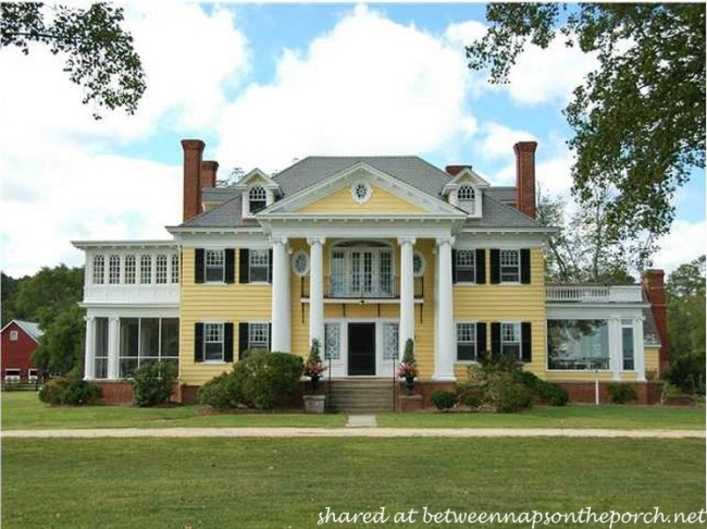 Greek Revival Manor Home, Oak Hall
