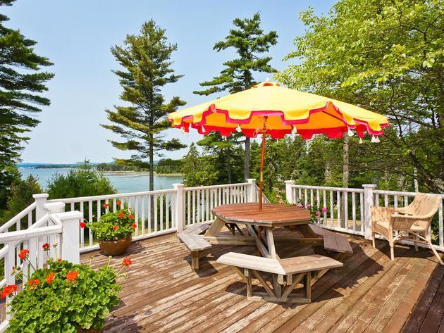Kirstie Alley Cape Cod Home in Maine, Islesboro Island 11