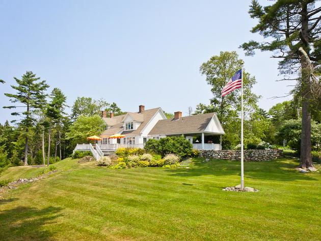 Kirstie Alley Cape Cod Home in Maine, Islesboro Island 14