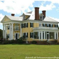 Oak Hall, Greek Revival Manor Home