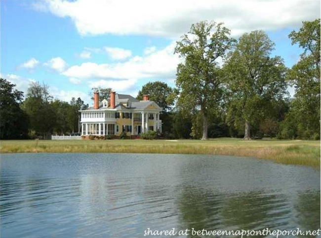 Oak Hall, Greek Revival Manor Home on the North River in VA