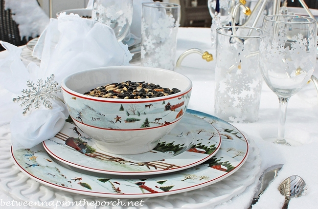 Table Setting for the Birds