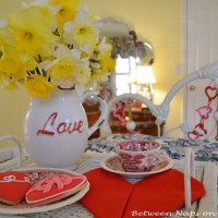 Valentine's Day Heart-Shaped Napkin Fold Tutorial