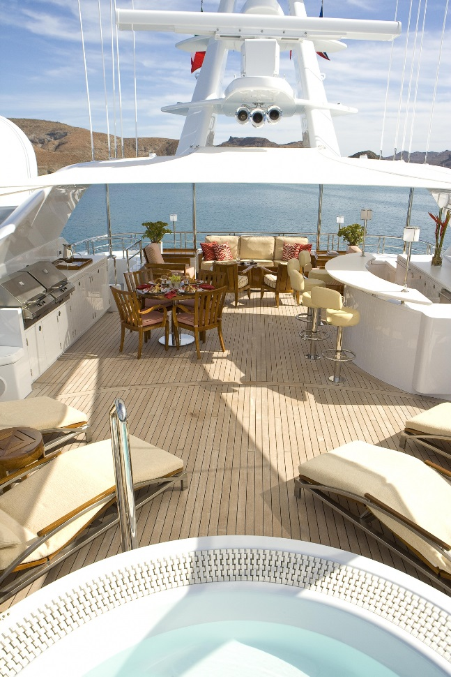Beautiful Yacht Designed by Tom Stringer Design Partners