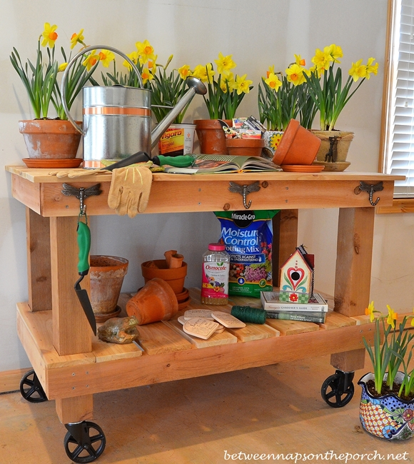 Build a Potting Bench DIY Tutorial