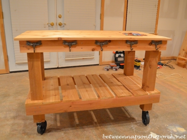 Build a Potting Bench or Garden Table