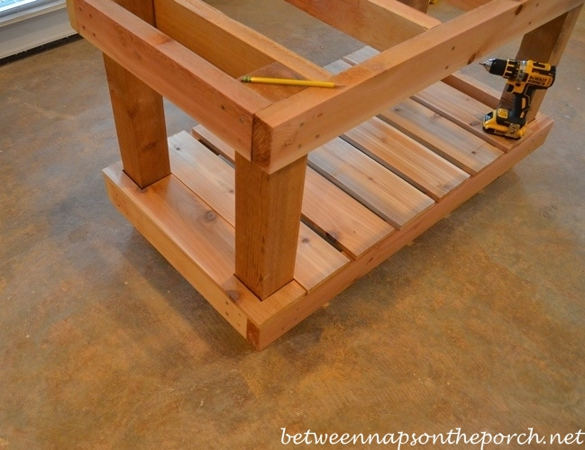 Building a Gardening Table