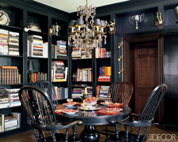 Dining Room Used As A Library 03