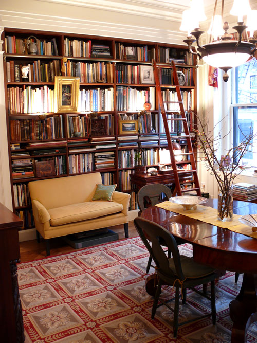 Dining Room Used As A Library 06