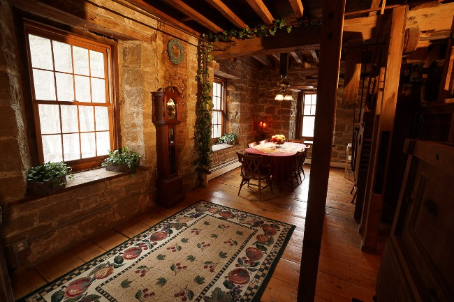 Grist Mill Preserved and Renovated into a Home (2)