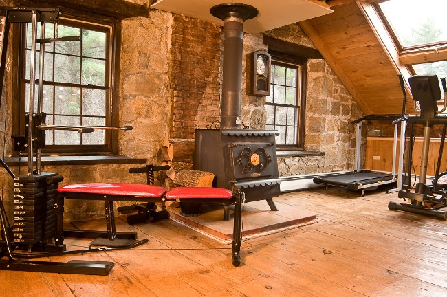 Grist Mill Preserved and Renovated into a Home