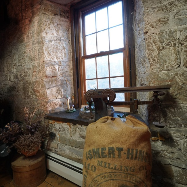 Grist Mill Preserved into a Bed and Breakfast