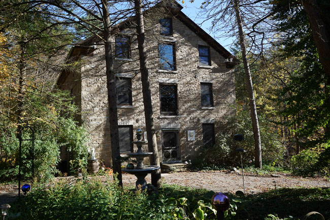 Old Grist Mill Turned into a Bed and Breakfast