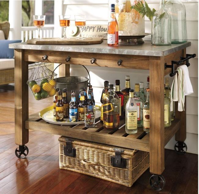 Build A Potting Bench Or Garden Buffet Table Pottery Barn
