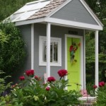Build a Garden Shed From a Child's Play Gym Set