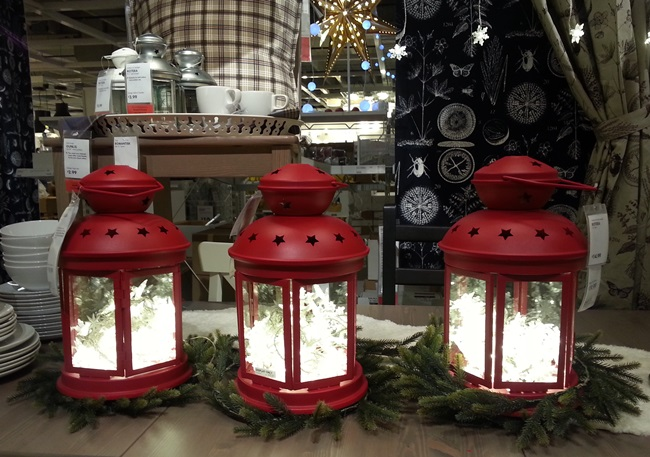 Red Lanterns from Ikea