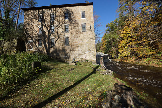 Renovated Stone Mill Becomes a Home 12