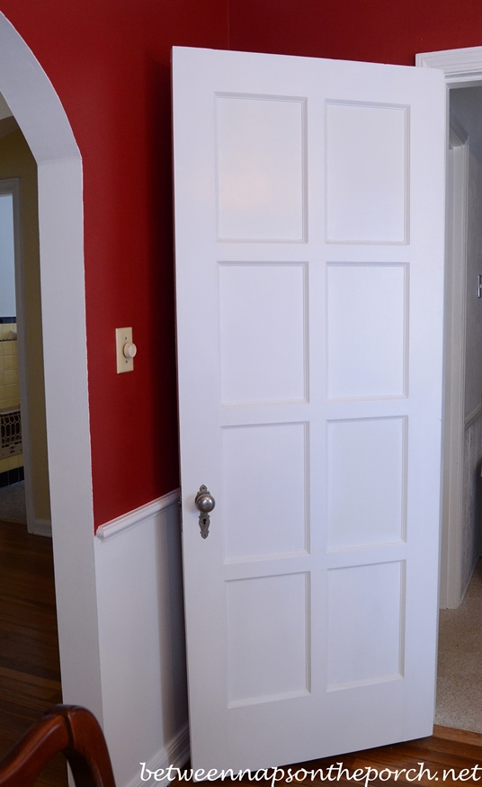 Antique Paneled Interior Door