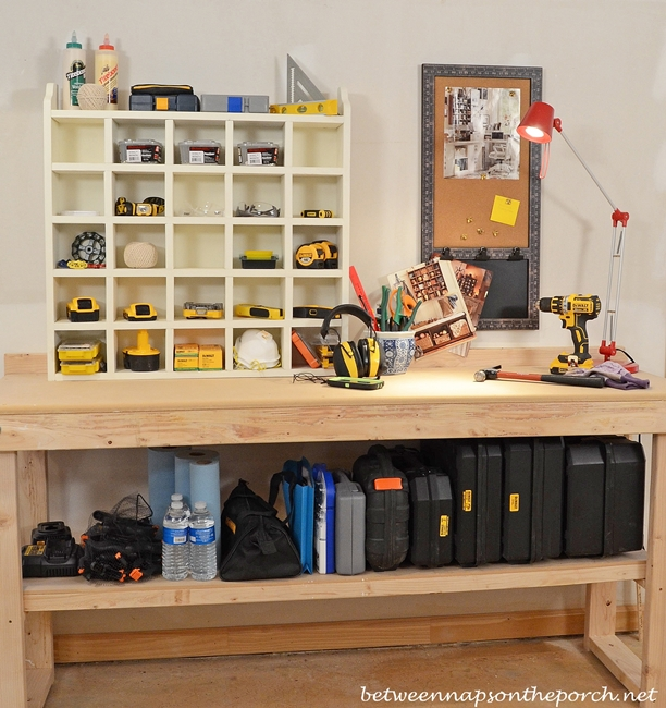 Build a Pottery Barn Inspired Cubby Organizer