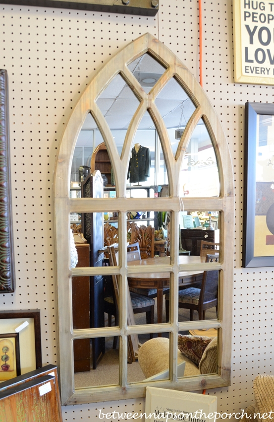 Catherdral Shaped Mirror