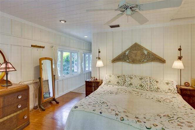 Cottage Bedroom with Paneled Walls