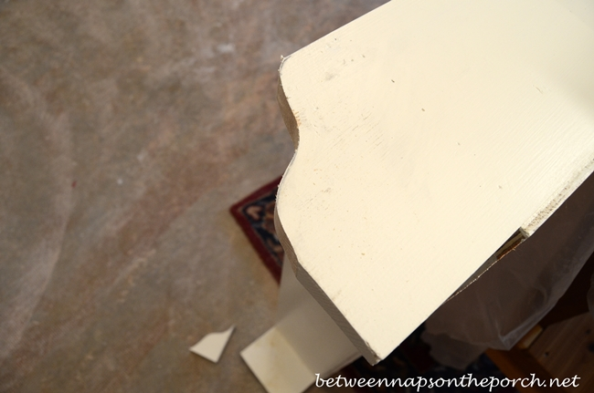 Cutting Sides of Pottery Barn Inspired Cubby Organizer_wm
