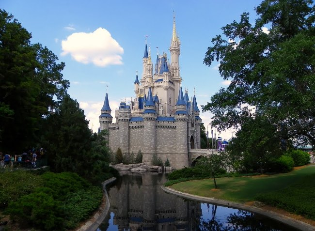 Disney World Cinderella's Castle