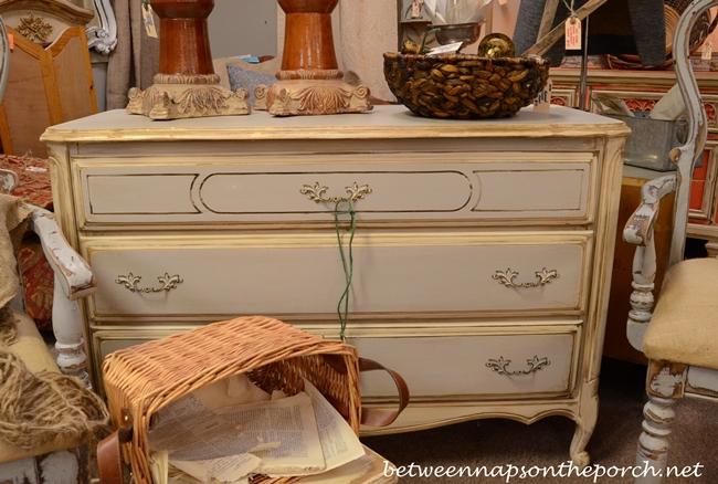 French Gray Dresser