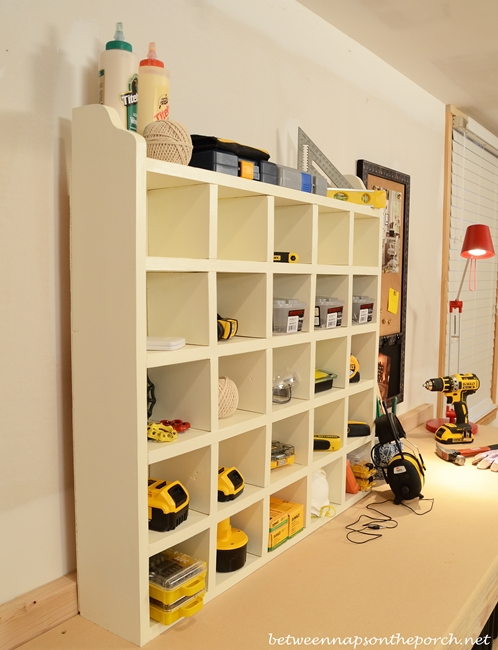 How to Build a Cubby Organizer, Pottery Barn Inspired